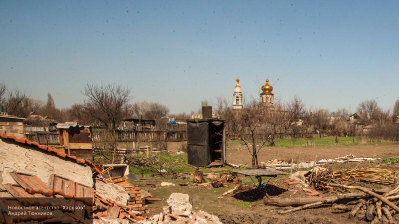 Мирный житель ранен при обстреле ВСУ в Донбассе