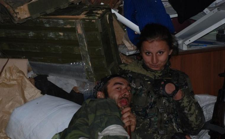 СМИ: «Белоснежки» больше нет: девушку Гиви убили в Донецке
