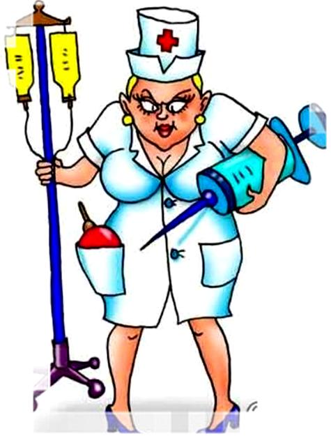 """""""Застенчивая"""" медсестра"""