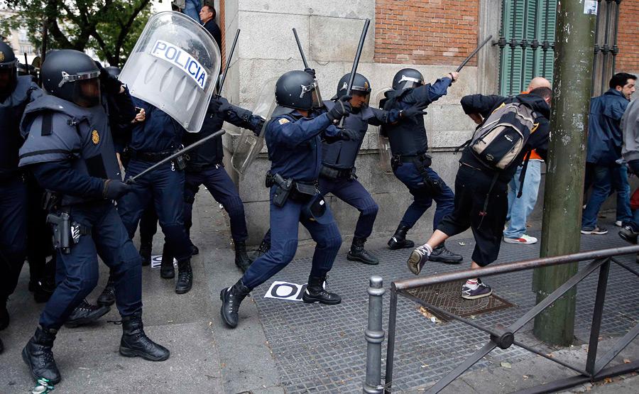 Бить оппозиционеров 2 апреля - и больно