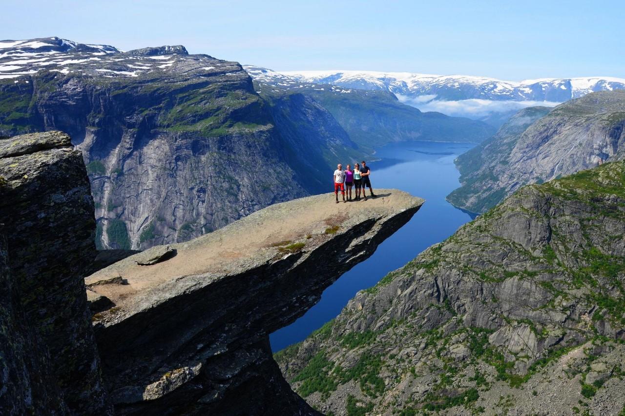 Достопримечательности норвегии фото и описание