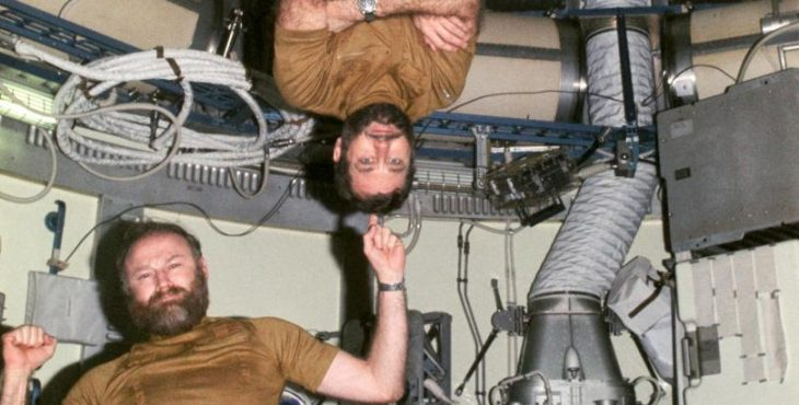 Мятеж на орбитальной станции