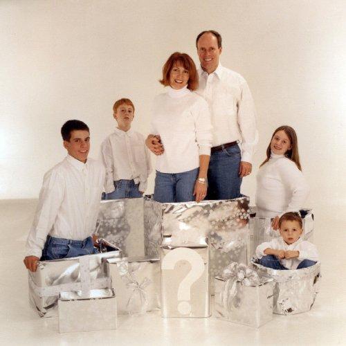 Смешные и нелепые семейные рождественские фотографии