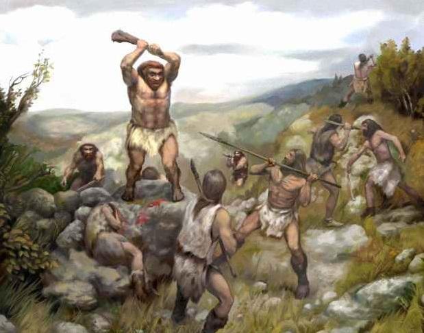 Люди убили неандертальцев из…
