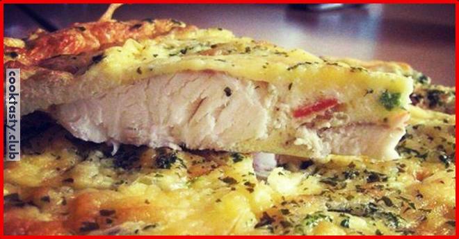Запеченная рыба со сметаной
