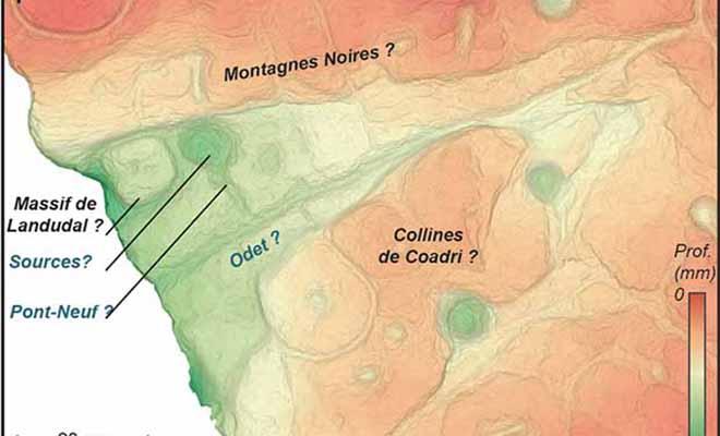 Лежавшая десятилетиями на складе старая плита оказалась древней картой возрастом 3000 лет Культура
