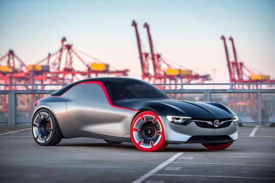 Opel GT Conept – возрождение легенды