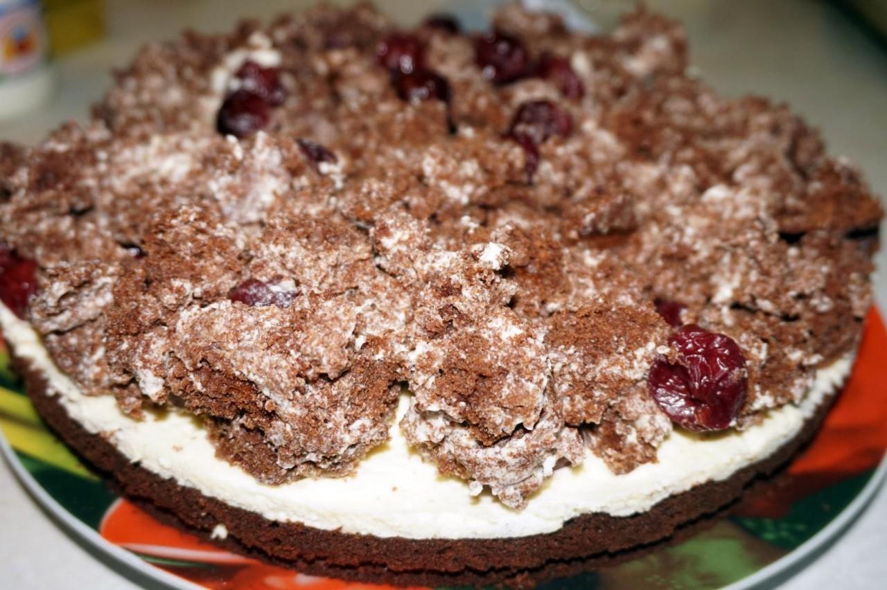 торт вишневый поцелуй рецепт с фото днем танкиста