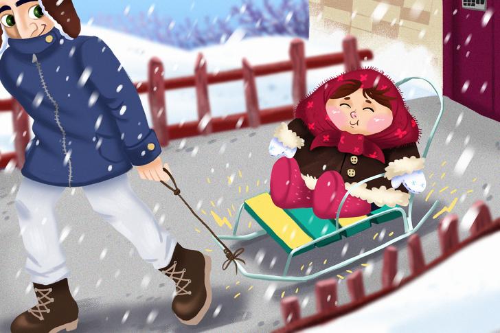 Съесть сосульку, потерять варежку и еще 13 ситуаций, в которые каждый попадал в детстве зимой воспитание