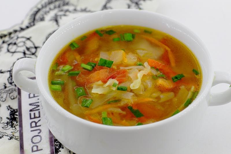 Щи Успенские. Суп получается вкусныим, лёгок в приготовлении и минимум продуктов!