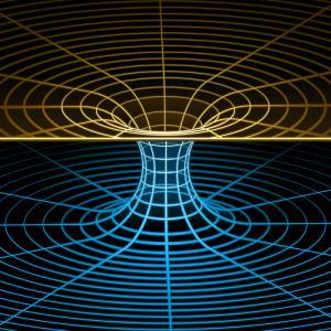 Кротовая нора в представлении художника ©depositphotos.com