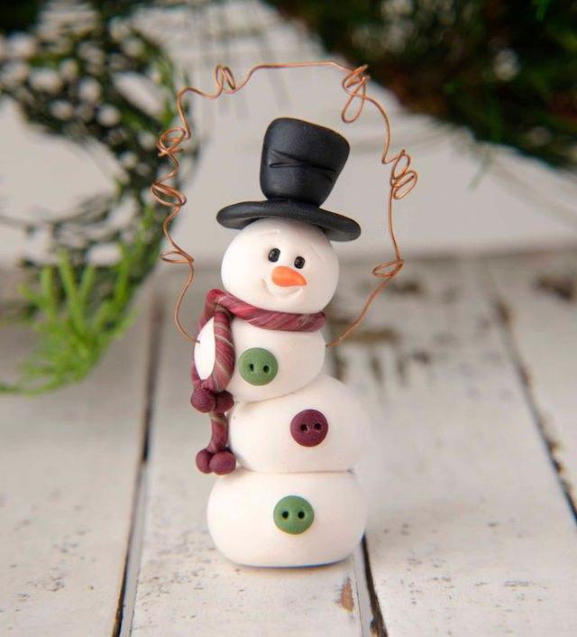 Такие разные снеговики