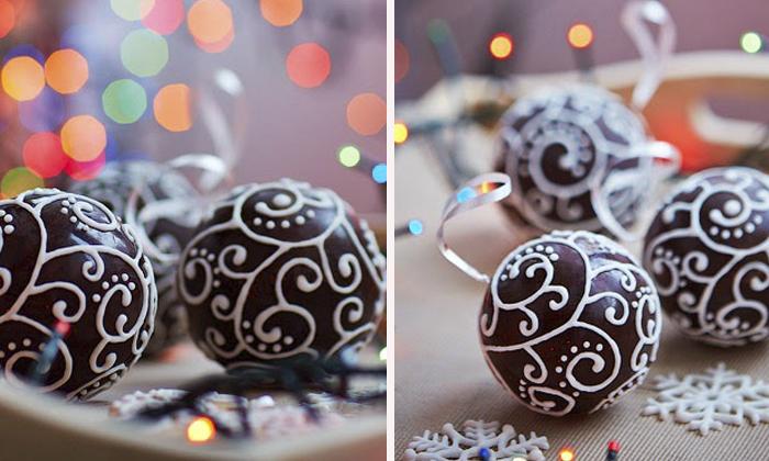 Шоколадные украшения с сюрпризом для елки своими руками, которые запомнятся всем