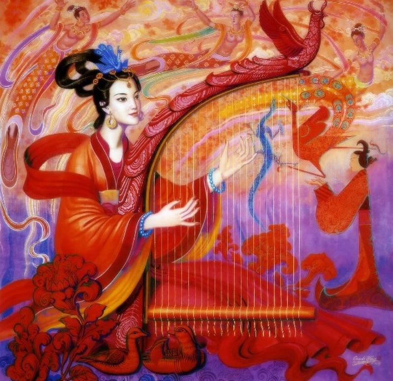 Китайский художник Cunde Wang