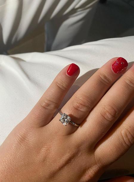 Дочь Романа Абрамовича Софья поделилась новыми снимками с помолвки Дети,Дети знаменитостей