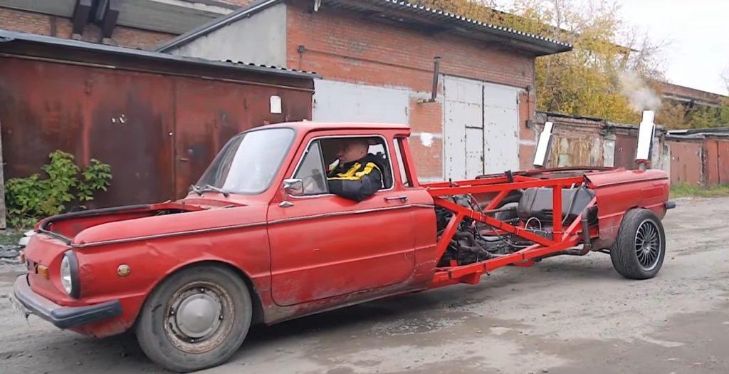 Такого ты еще не видел: старый Запорожец с V12