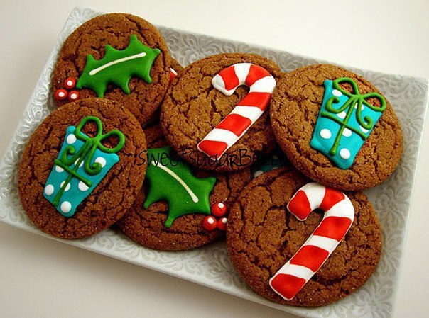 11 рецептов сахарной глазури, чтобы подойти творчески к украшению печенюшек для Рождества и Нового года 2017