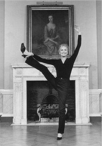 Модель в возрасте восемьдесят плюс: Дафна Селф
