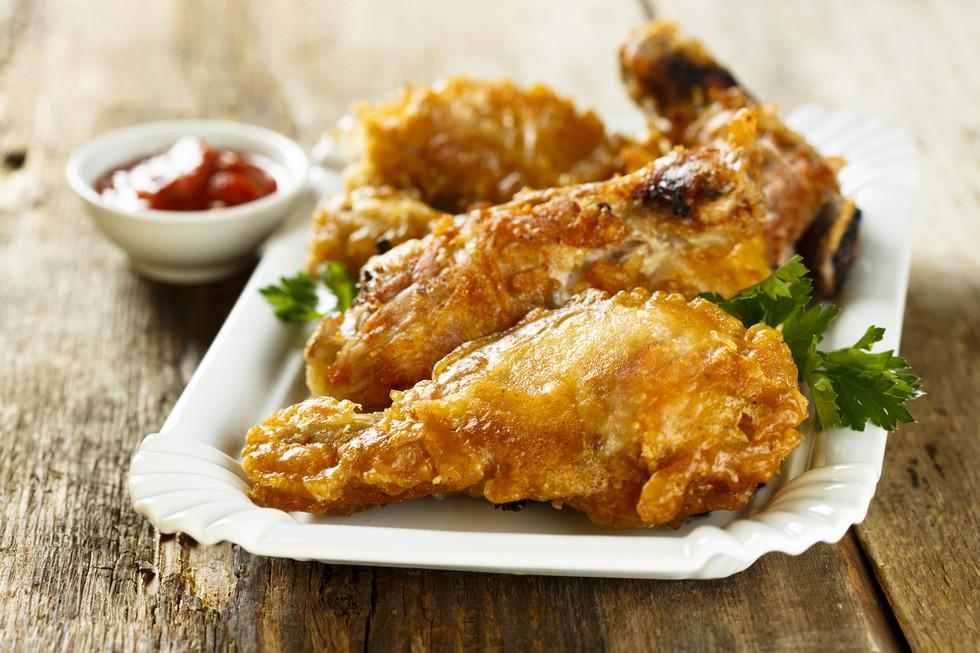 Курица в кляре рецепт с фото пошагово