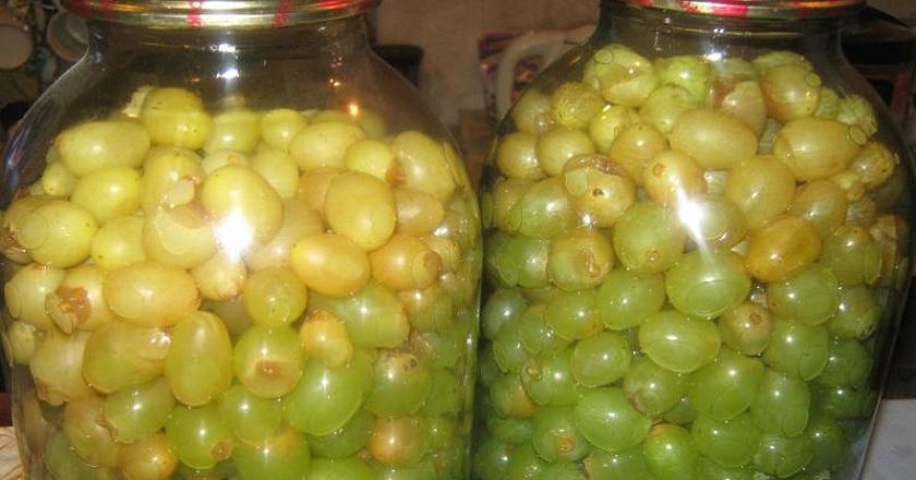 Об оливках и слышать не хочу, после того, как попробовала маринованный виноград/ Роскошь круглый год