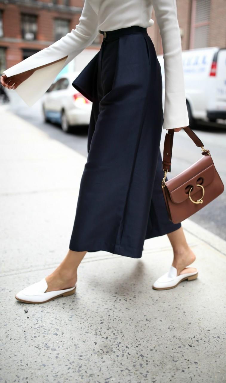 Как и с чем носить мюли: 6 модных способов