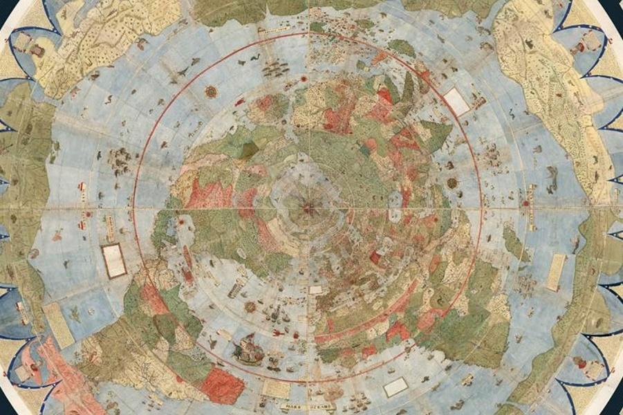 В сеть выложили самый большой атлас мира эпохи Возрождения