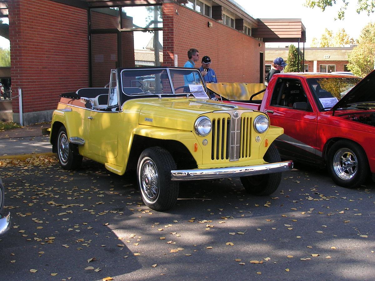 Самый необычный Jeep в истории, о котором ты не знал