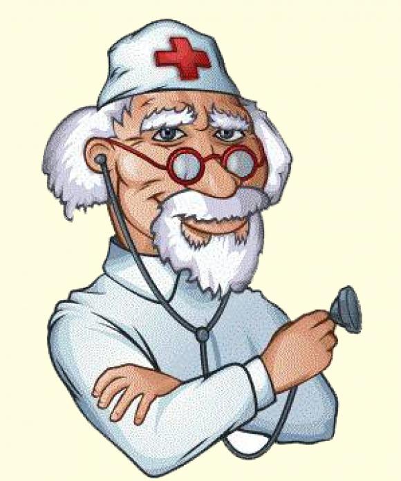 Картинка прикольного доктора