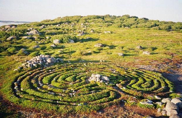 10 древних лабиринтов