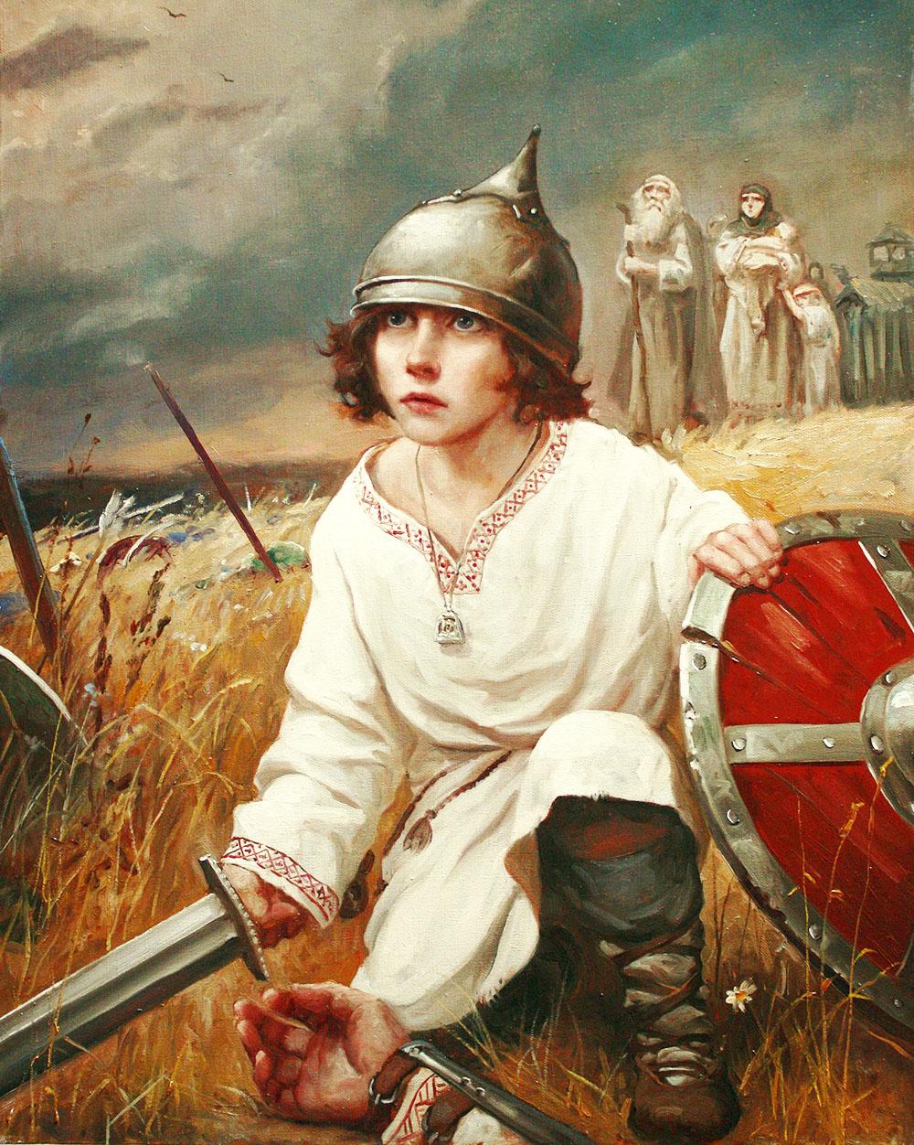 Я пришёл бы к вам раньше, но меня задержала стойкость ваших солдат ...