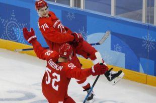 Определен состав российской команды на четвертьфинал с Норвегией на ОИ