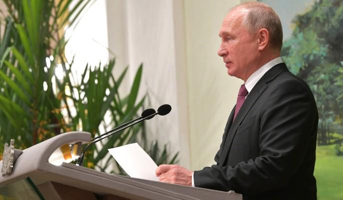 Нападение украинцев на Путин…
