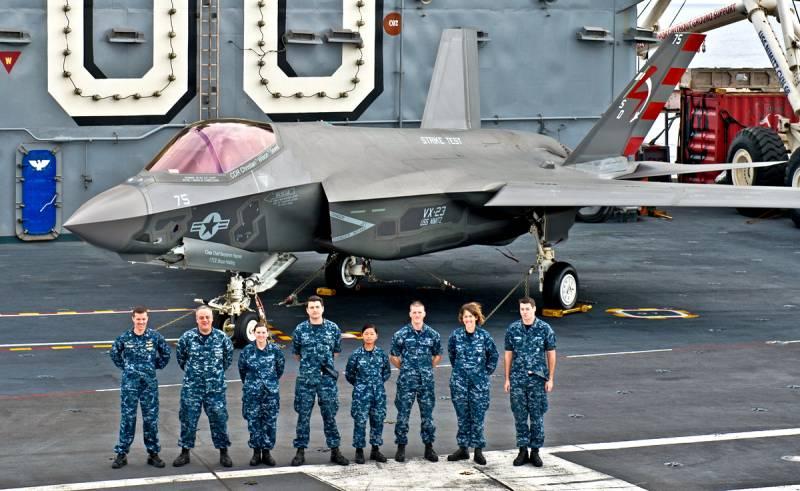Несовместим с авианосцами: военные США столкнулись с неприятной проблемой F-35 Техно