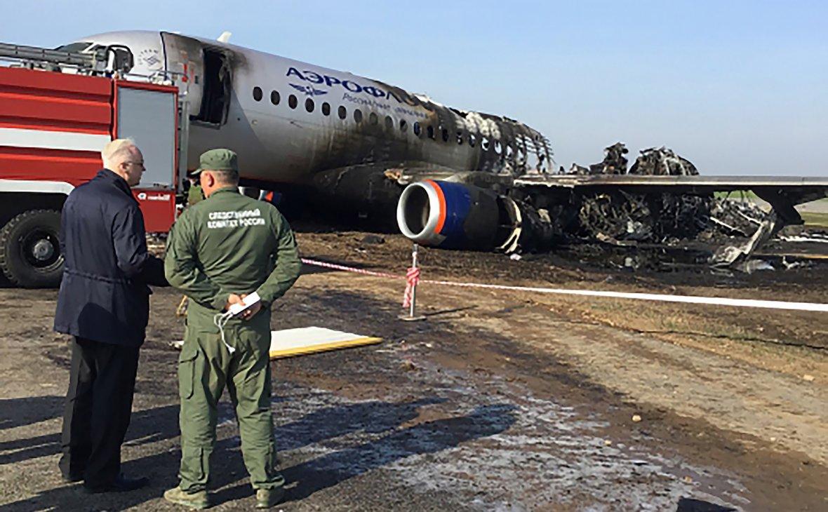 СМИ узнали о последствиях от удара молнии в разбившийся SSJ100 ssj100,авиакатастрофа,Аэропорт,«Аэрофлот»,Москва,общество,россияне,удар молнии,Шереметьево