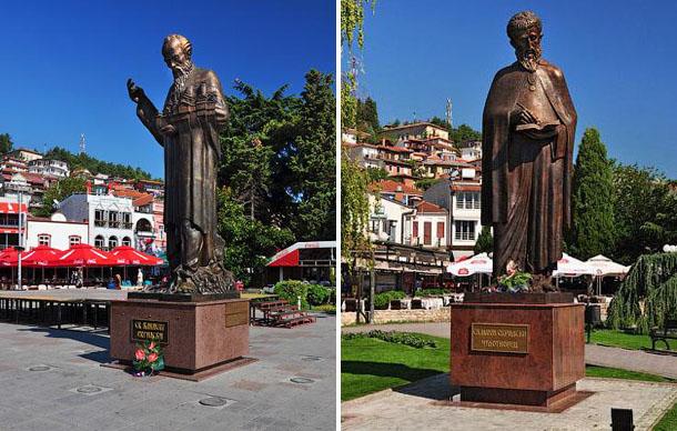 Памятники Св. Клименту и Св. Науму чудотворцу