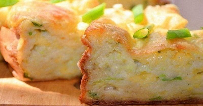 Сочная, воздушная, питательная и ароматная запеканка из кабачков с сыром