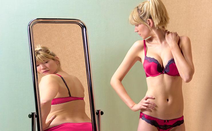 как видят свое тело девушки