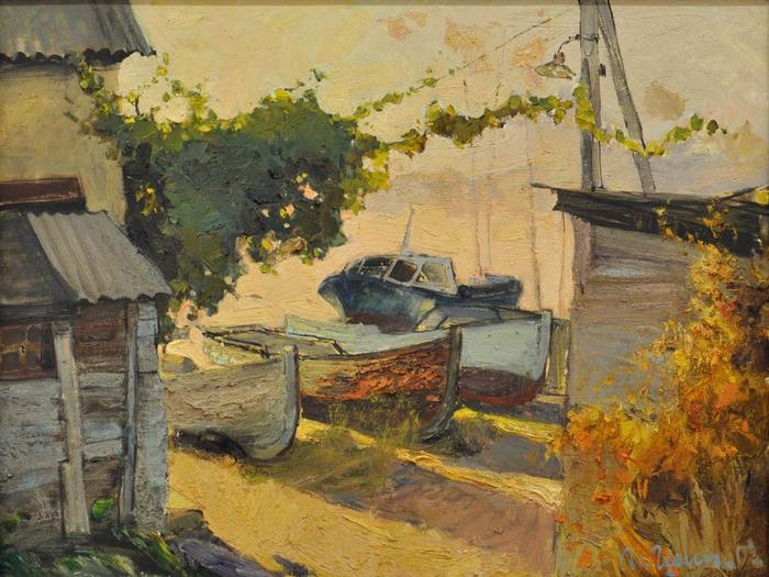 Солнечный Крым на картинах И.Н.Шипилина