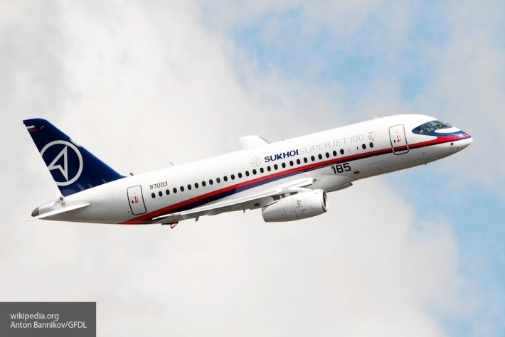 Авиастроение России: 176-й Sukhoi Superjet 100 совершил первый полет