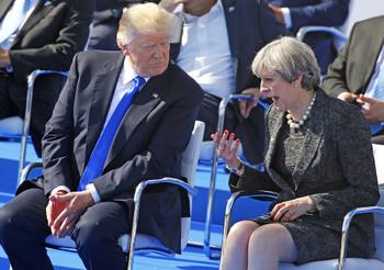 Британские СМИ: Трамп нанёс удар по правительству Терезы Мэй