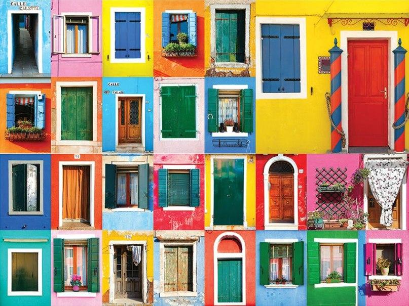Ассоциативный тест «Цветные двери»