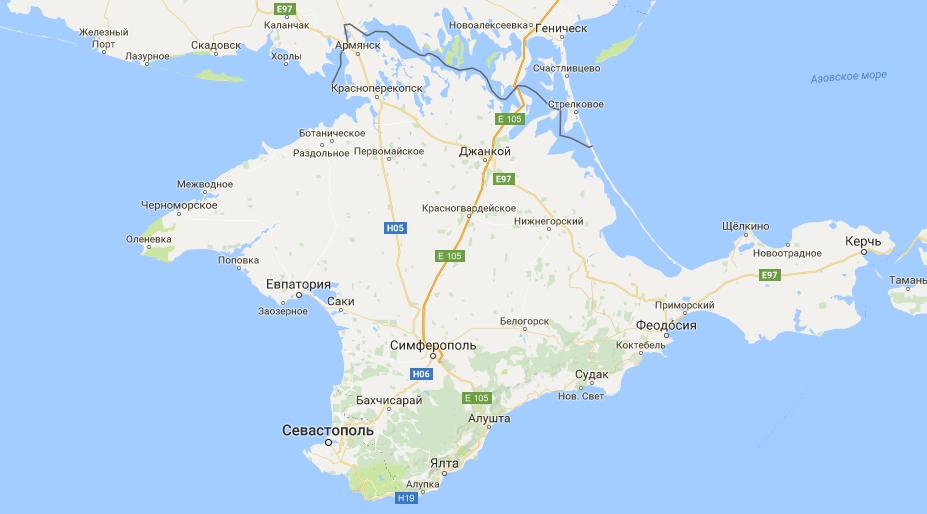 Крымским городам вернули прежние названия