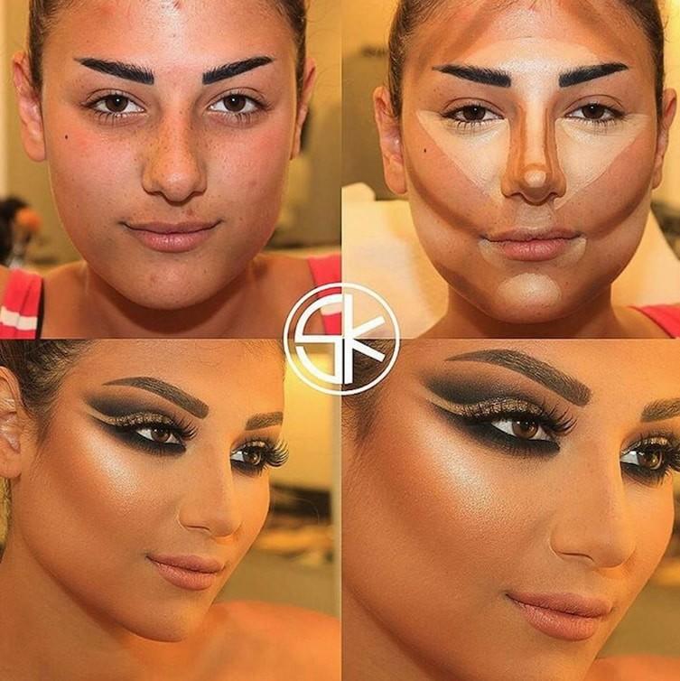 пошаговый профессиональный макияж для фотосессии физическом доступе