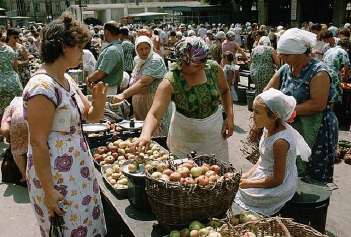 Рынок в Ростове.