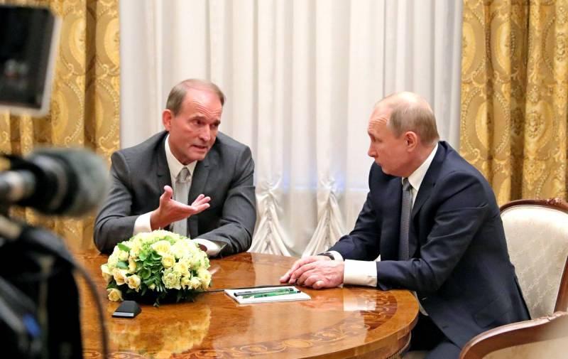 «Изменник Медведчук»: как Зеленский решил Путина подразнить