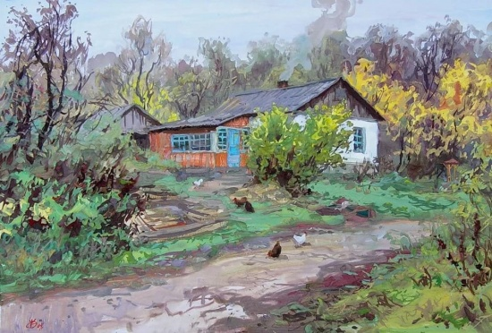 художник Владимир Ольхов картины – 25