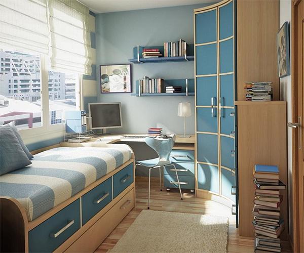 Функциональные идеи для оформления маленькой детской комнаты