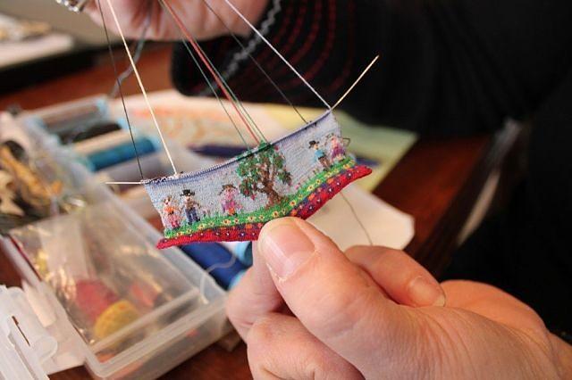 Миниатюрное вязание
