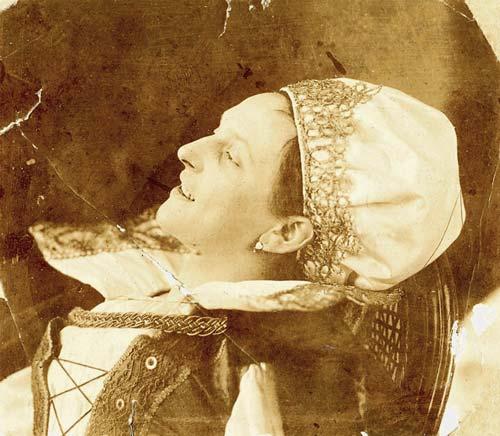 Фрагмент картины Иштвана Чока.
