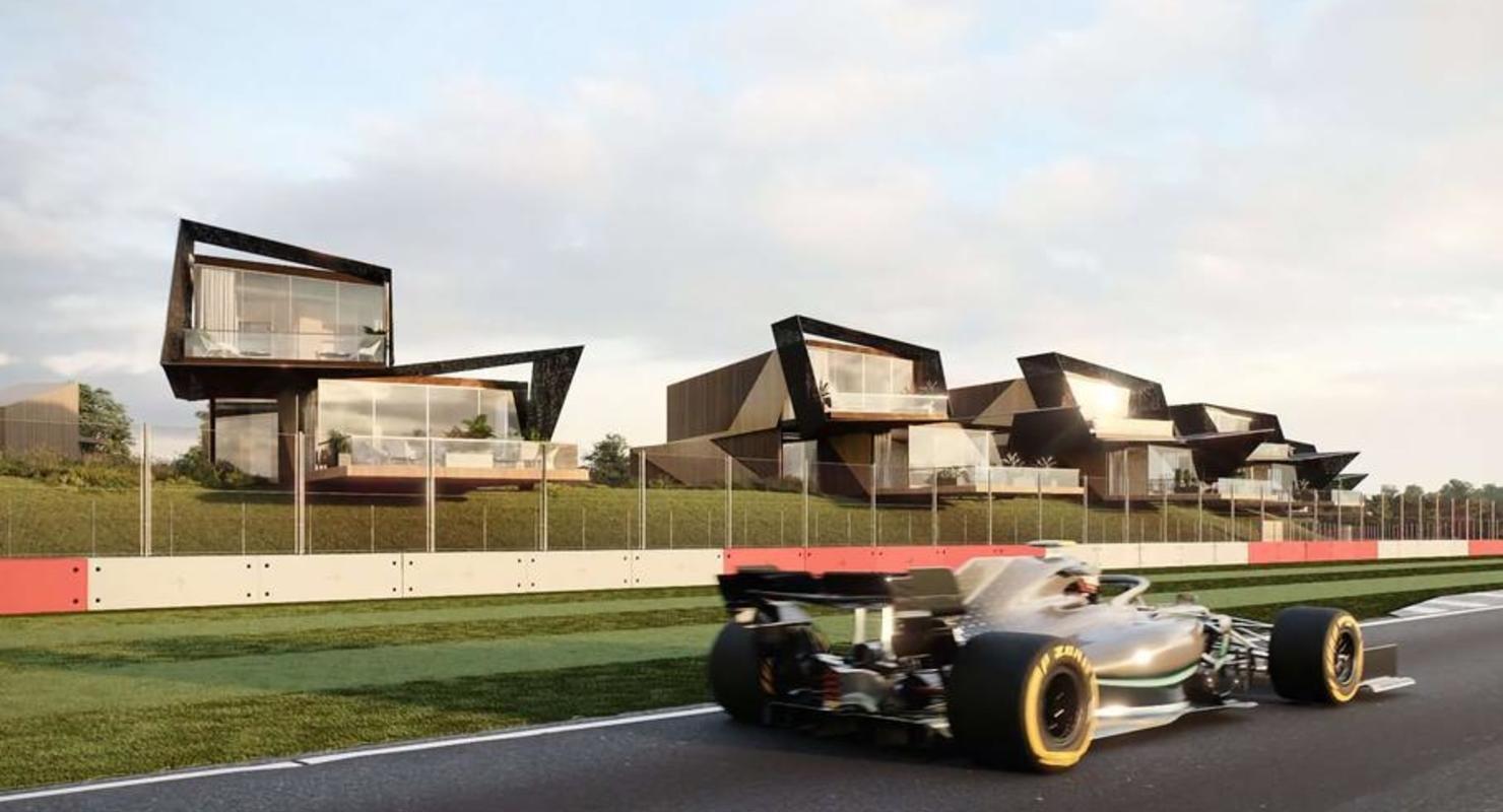 В Англии построят коттеджный поселок для любителей Формулы-1 Автомобили